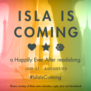 IslaIsComing, readalong, http://cuddlebuggery.com/