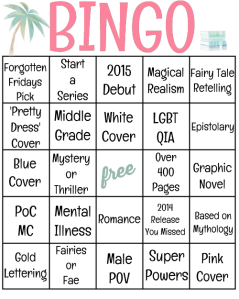 Bookish Bingo 2015 New year