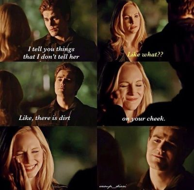 The Vampire Diaries (Stefan and Caroline)