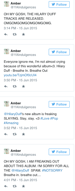 Hilary Duff Storify
