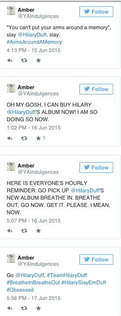 Hilary Duff Storify