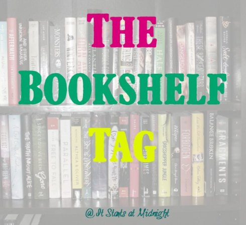 The Bookshelf Tag Shannon