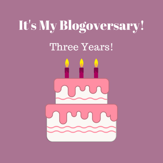 It's My Blogoversary!