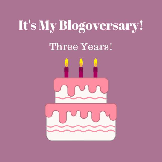 It's My Blogoversary!